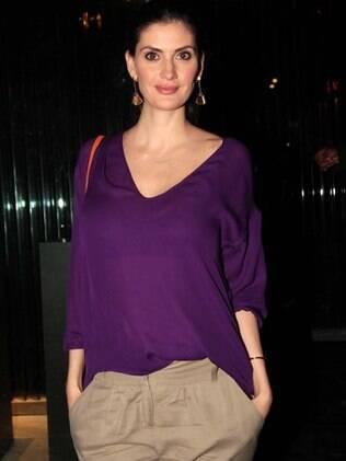Isabella Fiorentino fará os comentários do Victoria's Secrets Fashion Show no SBT