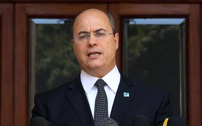 Governador afastado do Rio de Janeiro, Wilson Witzel.
