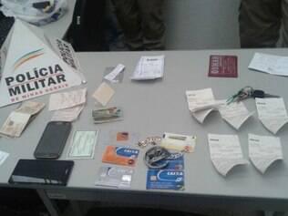 Trio estava hospedado em Luz e foi detido quando tentava aplicar golpe em Pará de Minas
