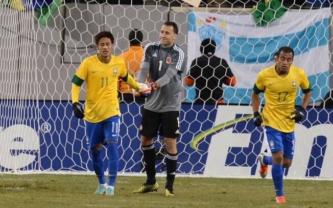Atacante também perdeu um pênalti diante dos  colombianos