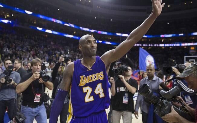 Kobe Bryant faleceu em acidente aéreo