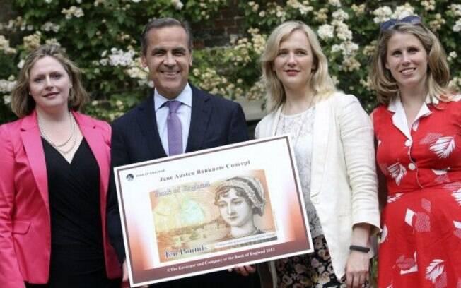 Após campanha, Reino Unido incorporou Jane Austen em uma nota da libra esterlina