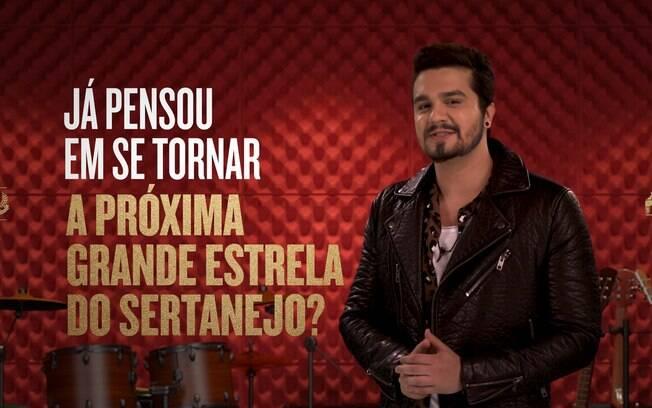Luan Santana será apresentador de reality show sertanejo