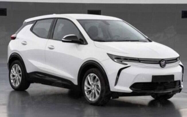Após vazamento de imagem, o tadicional marca da General Motors, o Buick Velite 7 mostra como será o novo SUV elétrico da linha Bolt