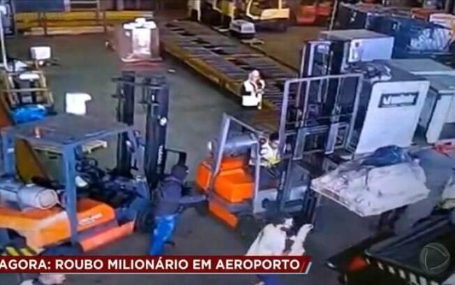 Roubo de carga de ouro no aeroporto de Guarulhos