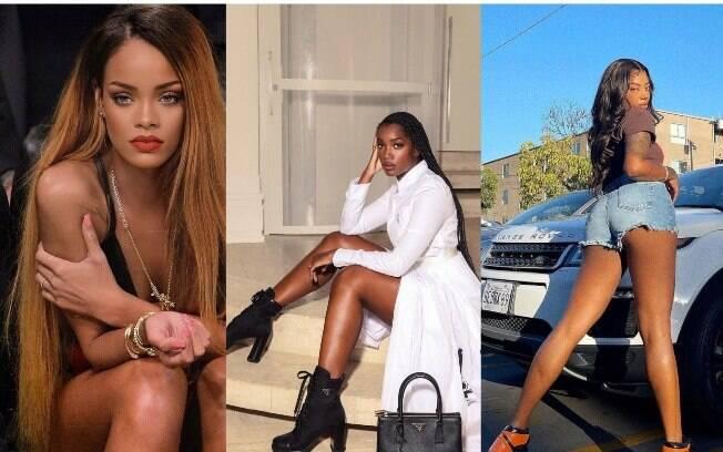 Rihanna, Iza e Ludmilla são famosas que se identificam com o termo Afropatys