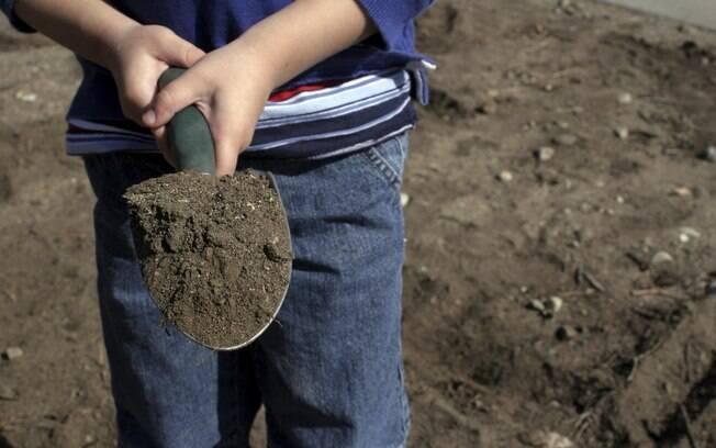 Vontade de comer terra. Foto: Getty Images