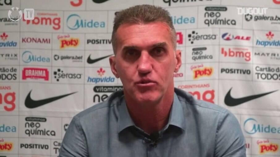 Mancini fala sobre 2021 do Corinthians