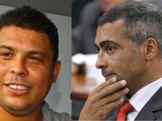 Ronaldo e Romário iniciaram troca de farpas por conta de cota de ingressos para deficientes