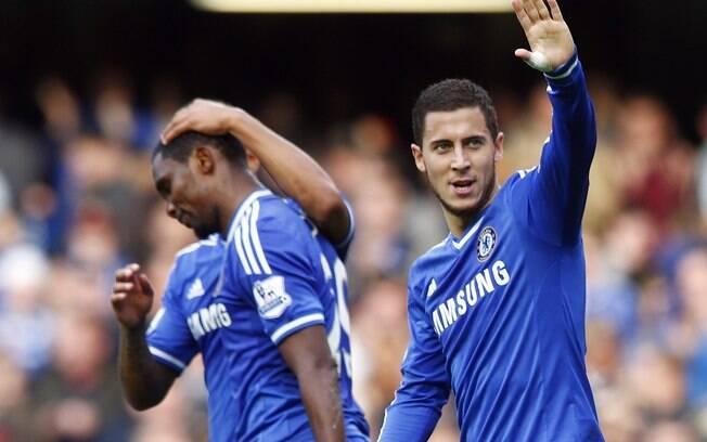 Hazard empata para o Chelsea em jogo diante do Cardiff, em Londres