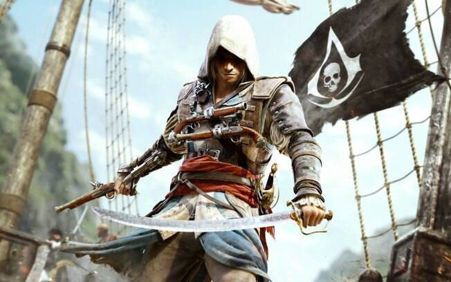 Edward Kenway, o protagonista de Assassin's Creed IV: Blackflag