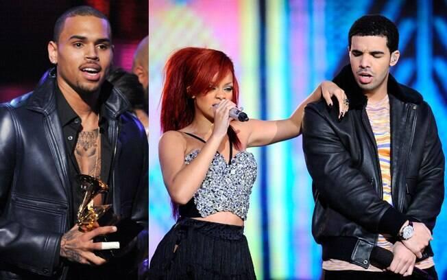 Chris Brown, Rihanna e Drake