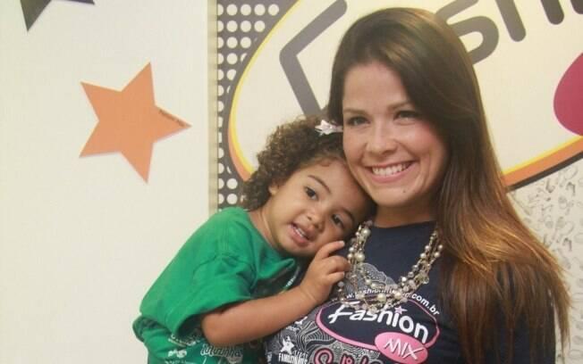 Samara Felippo e a filha, Alícia