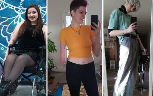 Movimento criado nas redes sociais exalta a beleza e reforça a autoestima das pessoas com deficiência; confira os posts