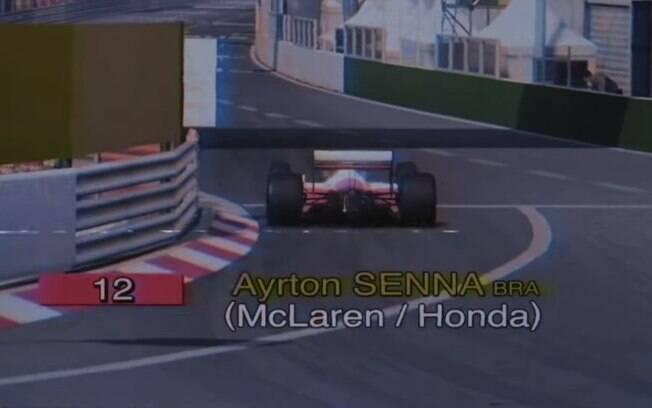 McLaren recria volta antológica de Ayrton Senna em Mônaco