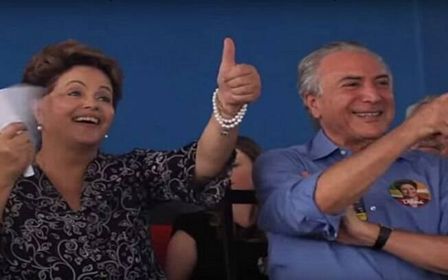 Ação contra chapa que elegeu Dilma Rousseff e Michel Temer no TSE é movida pelo PSDB e pela Coligação Muda Brasil