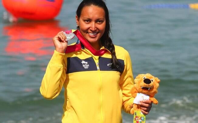 Poliana  foi prata no Pan-Americano de  Guadalajara, em 2011