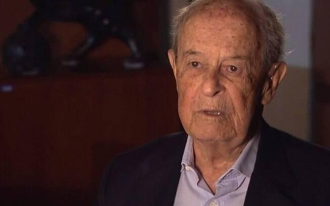 Aloysio de Andrade Faria morreu nesta terça-feira (15) aos 99 anos em uma fazenda no interior de São Paulo; ele foi controlador do Banco Real até os anos 1990