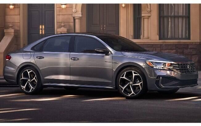 Novo visual do VW Passat 2020 é o mesmo no Novo Jetta. Será revelado no Salão de Detroit 2019, mas não virá ao Brasil