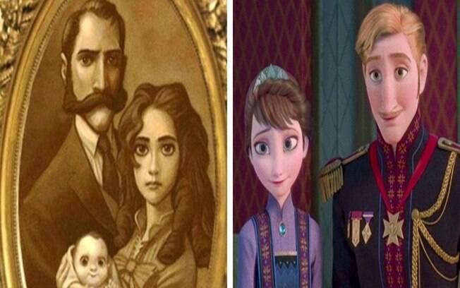 Tarzan é irmão de Ana e Elsa
