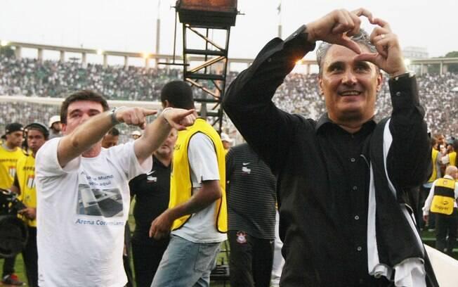Uma semana depois, após empate em 0 a 0 com o  Palmeiras, o Corinthians foi campeão brasileiro