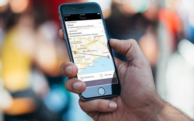 Os clientes da Flapper, empresa de aviação executiva, podem marcar seus voos por aplicativo