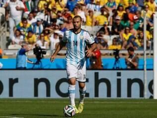 Jogador argentino preferiu não comentar polêmica frase e disse que era assunto do grupo
