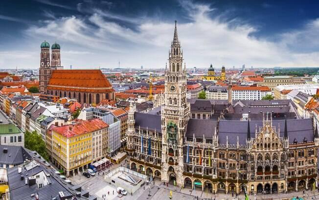 Apesar de histórica, Munique é um grande pólo das novas descobertas científicas e tecnológicas