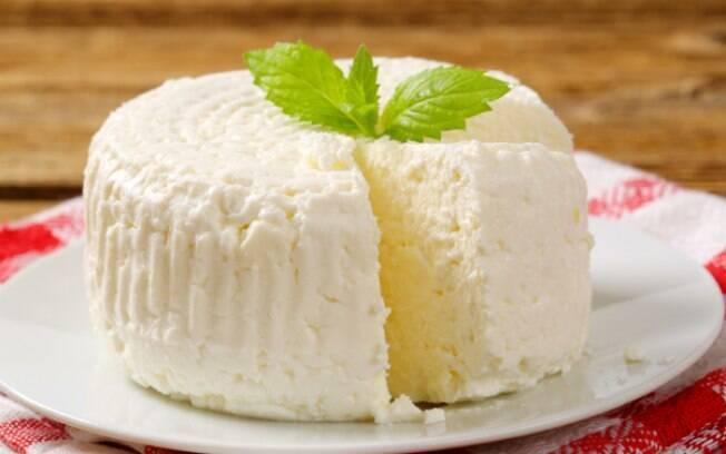 Uma opção de queijo nutritivo e saudável é o ricota