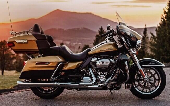 Harley-Davidson passa a equipar suas motos touring com novo motor V2 Milwakee-Eight