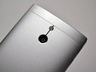 Câmera do Xperia P tem resolução de 8 MP