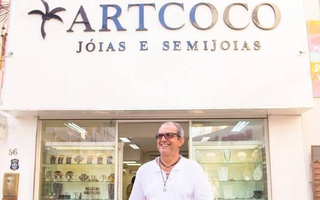 Hoje, a ArtCoco Jóias e Semijoias é responsável por 50% do processo de produção das três mil peças vendidas