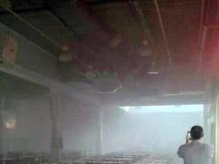 Shopping foi evacuado após princípio de incêndio