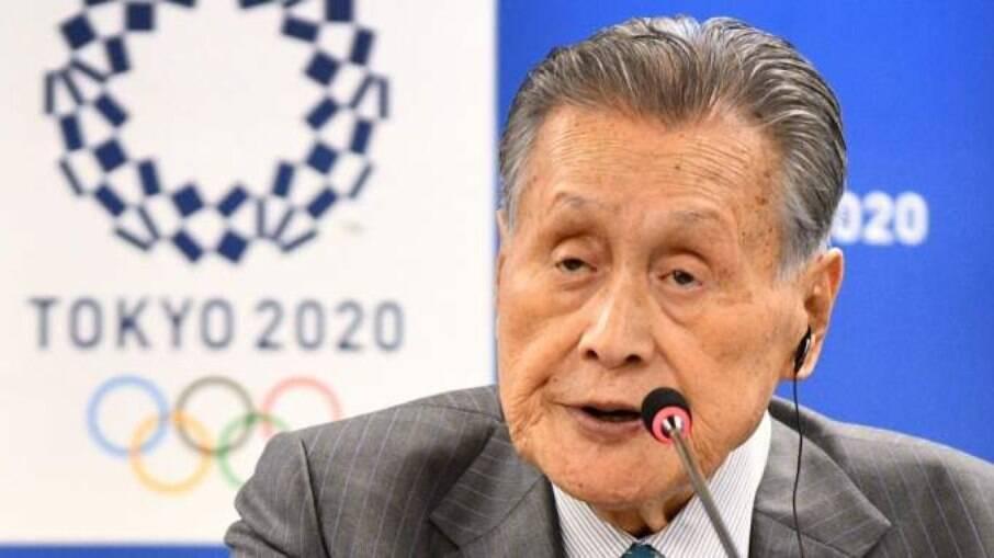 Yoshiro Mori deixou organização das Olimpíadas de Tóquio após polêmica