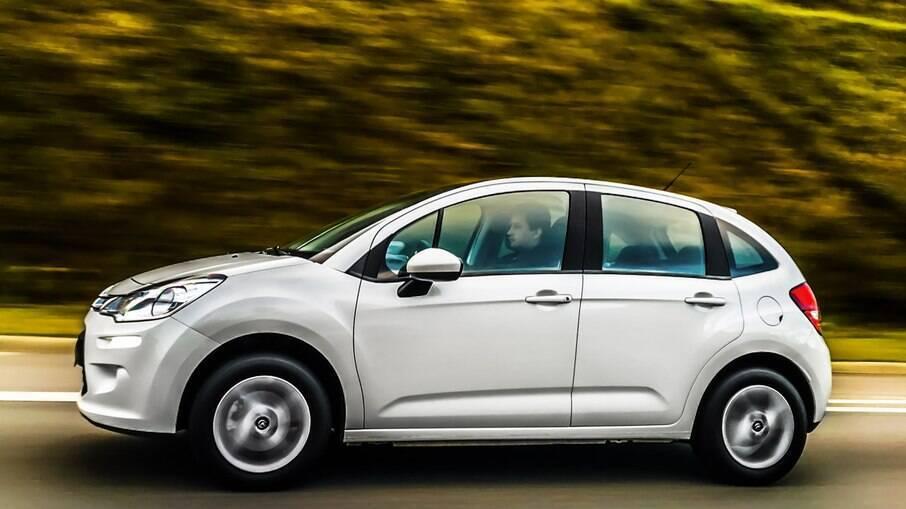 Citroen C3: hatch compacto fechou 2020 com 968 unidades vendidas, o menor volume entre os rivais da categoria