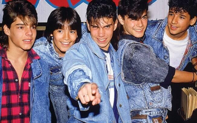 O grupo musical de Porto Rico,