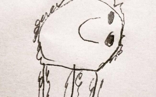Pai cria imagens realistas a partir dos desenhos do filho