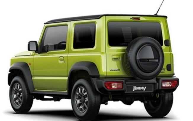 Novo Suzuki Jimny preserva a identidade histórica e segue com ares de robustez, mas com uma pitada de modernidade