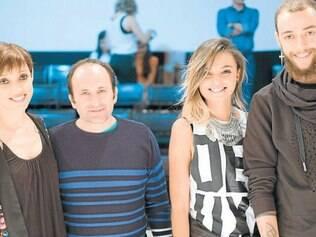 Encontro fashion: Cris Guerra e Alfredo com Romênia Campos e Pedro Moura, ecoando o 20º Fumec Forma Moda