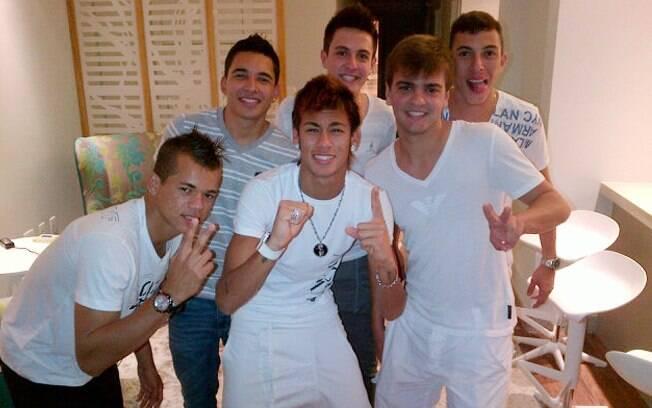 Neymar e sua turma