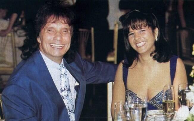 Roberto Carlos e a ex-esposa Maria Rita, morta em 1999
