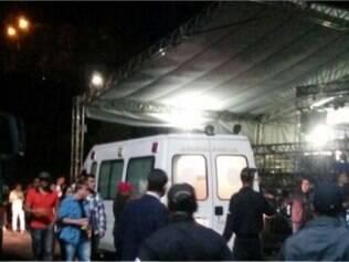 Camarote desaba e deixa ao menos dez feridos em Ouro Preto