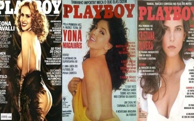 Na sequência: Leona Cavalli, Yoná Magalhães e Cristiana Oliveira também posaram para a 'Playboy'