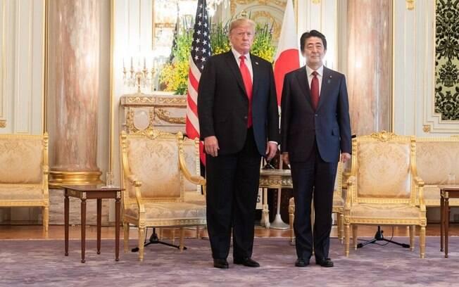 Trump parece ansioso para reduzir o déficit comercial americano com o Japão