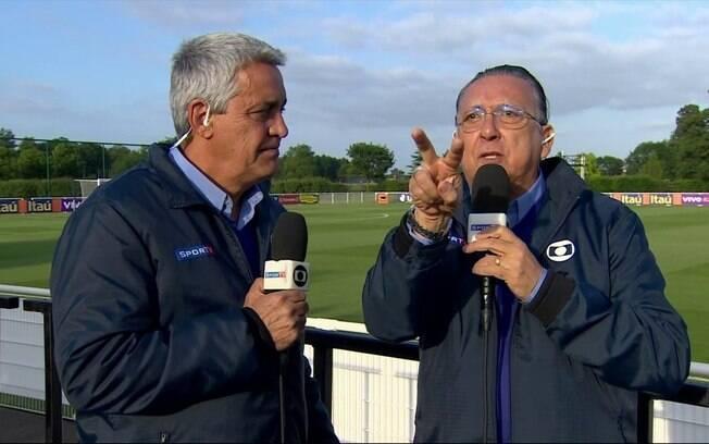 Mauro Naves e Galvão Bueno são amigos pessoais