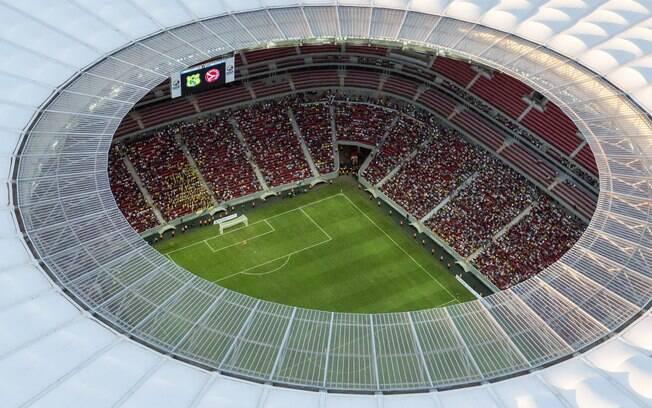 fortaleza palco do pr 243 ximo jogo do brasil tem est 225 dio