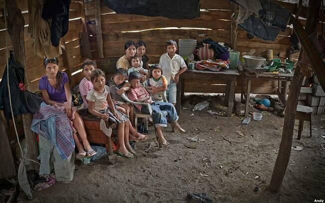 Esta foto foi feita em Los Limones, na Guatemala. Foto: Andy Goldstein