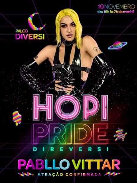 O Hopi Pride Fest, no Hopi Hari, acontece em novembro
