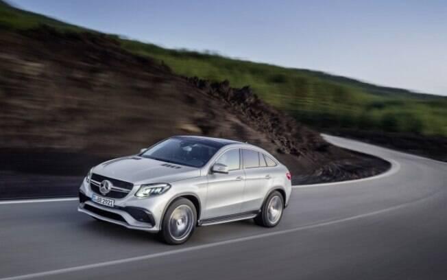 Mercedes GLE AMG combina o jeito de um cupê com o porte de um SUV com acerto bem esportivo