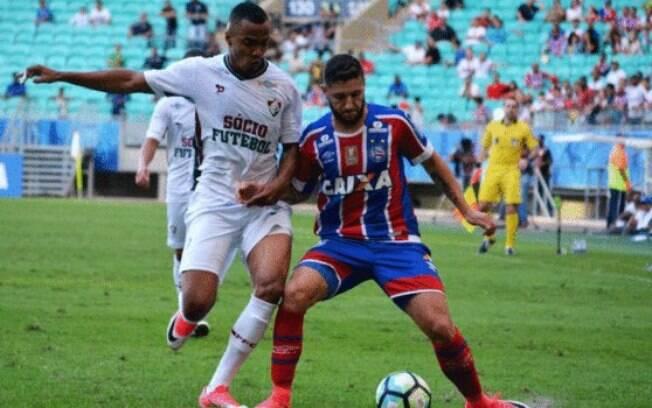 Bahia e Fluminense ficaram no 1 x 1 na Arena Fonte Nova: resultado ruim para os dois